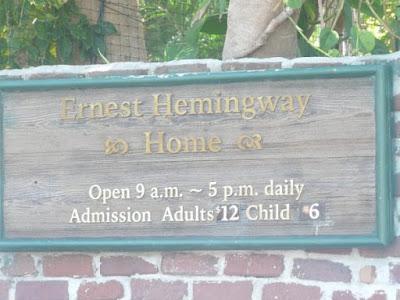 visite de maison Ernest Hemingway Key West