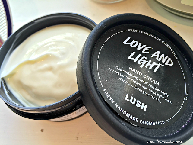 Love and Light Hand Cream | Lush | Love, Maisie review