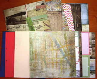 Cardstock, Designpapier und Labels