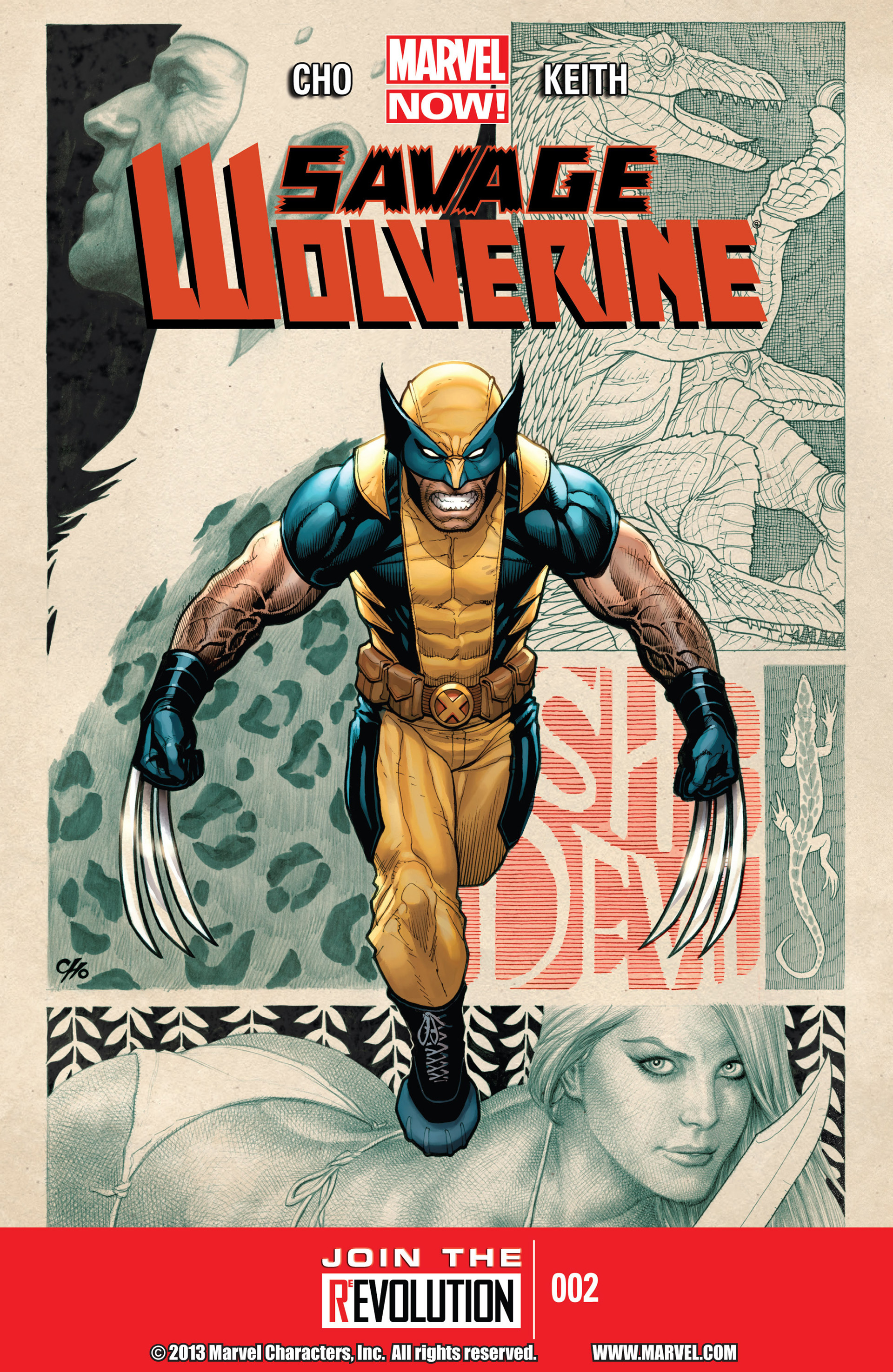 Savage Wolverine issue 2 - Page 1