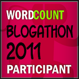 badge for WordCount Blogathon 2011 Participant