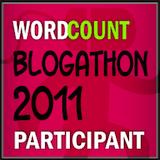 badge for WordCount Blogathon 2011 Participant