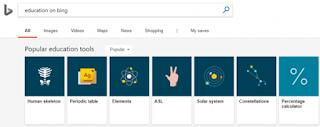 Bing Education Carousal