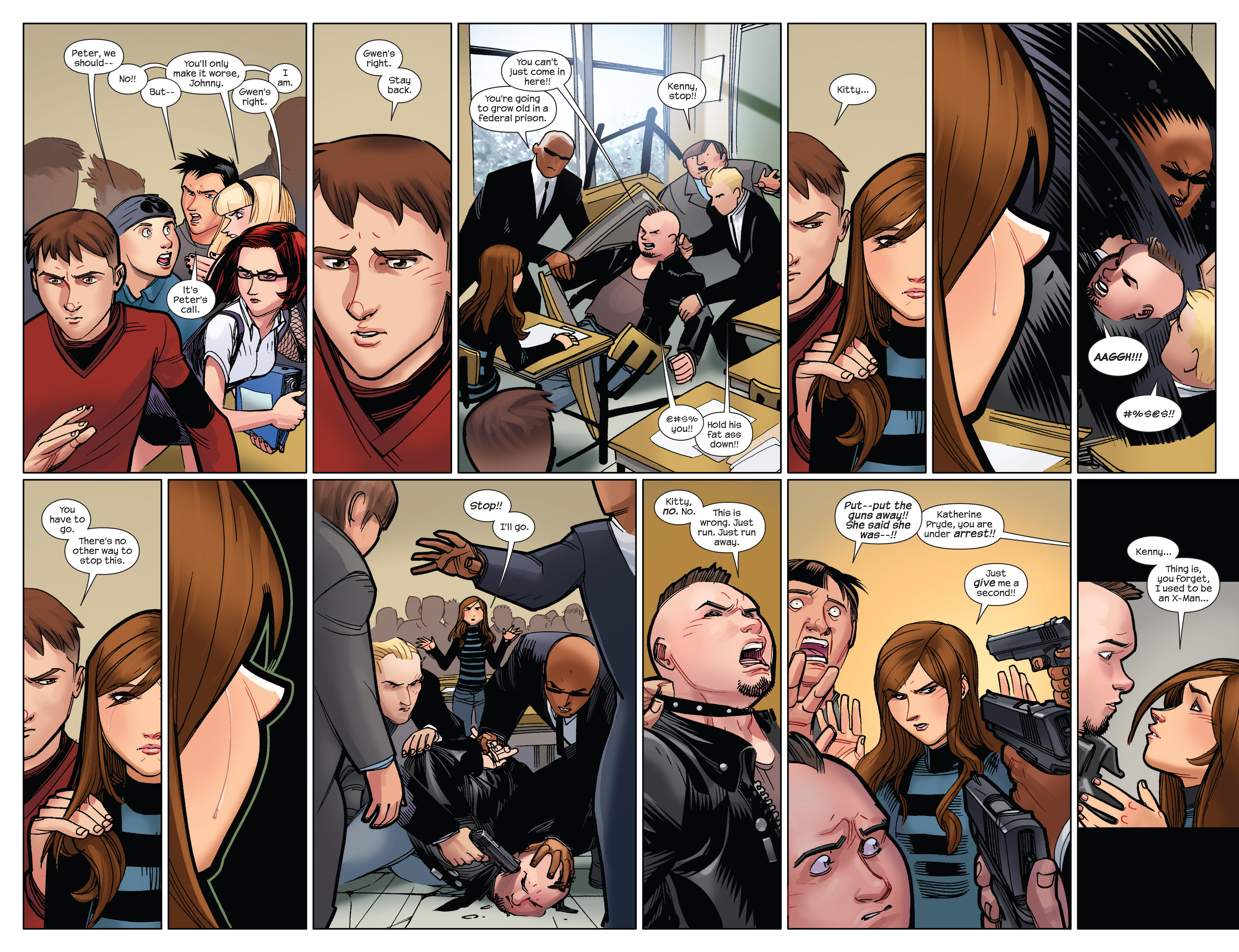 Read online Ultimate Spider-Man (2009) comic -  Issue #10 - 4