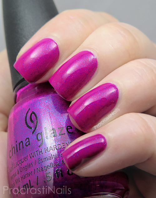 Swatch of China Glaze Flying Dragon