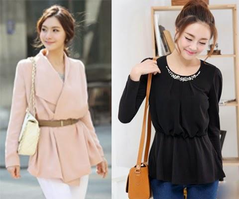 model baju atasan korea