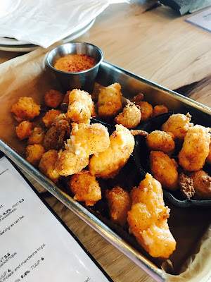 Photo of fried cheese curds