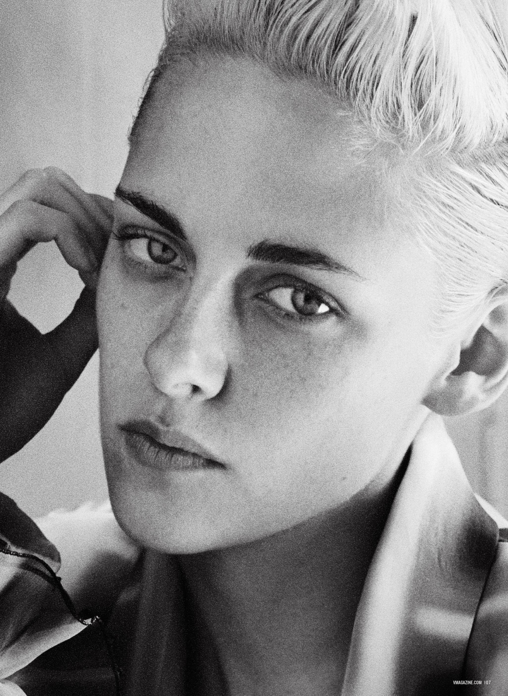 Kristen Stewart in V magazine photoshoot