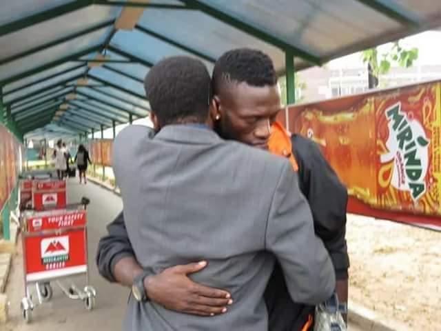 Photos: Zambian footballer