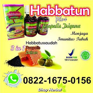 Habbatun Plus Propolis Trigona - Jual Obat Herbal
