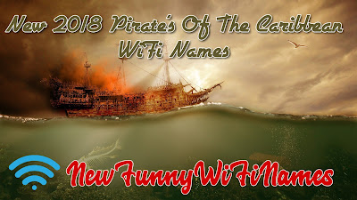 Pirates Of The Caribbean WiFi Names