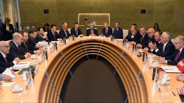 Netanyahu pide a Australia una 'posición más agresiva' con Irán