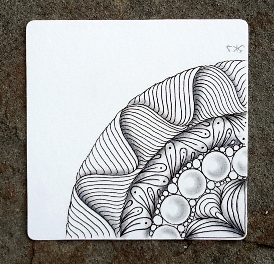 Sue's tangle trips: Zentangle plates