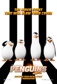 Penguins of Madagascar Poster