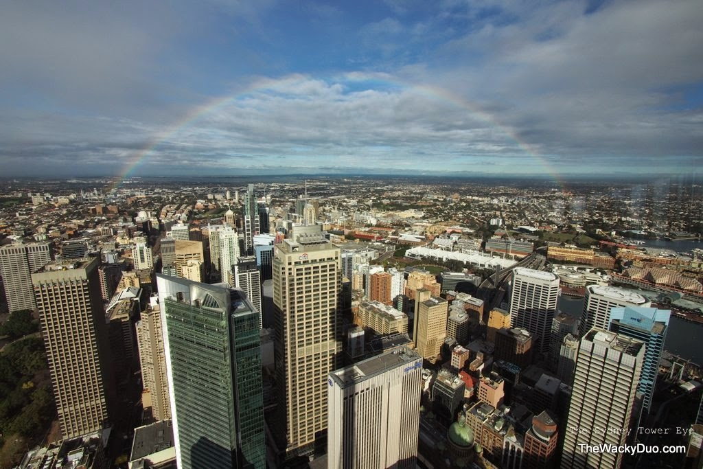 Sydney Tower Eye : Review from the sky | The Wacky Duo | Singapore