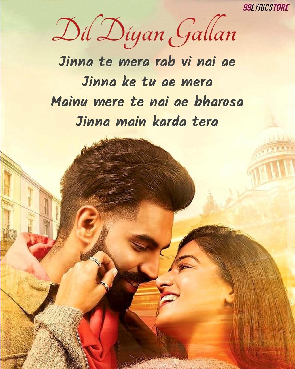 Dil Diyan Gallan Punjabi Song Lyrics Sung by Abhijeet Srivastava