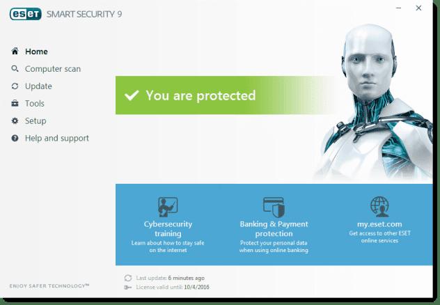 Download ESET Nod32 9 with Username & Password With License + Activation Keys (2017) at VivaTricks.blogspot.com