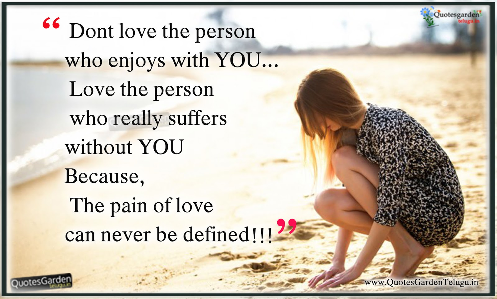 Heart Touching Quotes - Feeling Alone Love quotes | QUOTES ...
