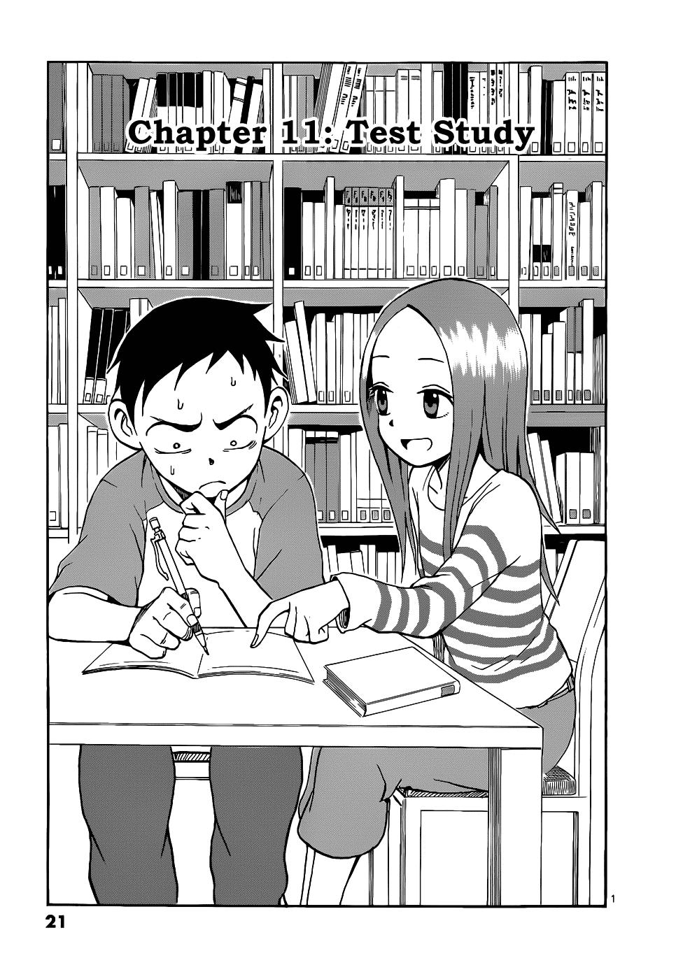 Karakai Jouzu no Takagi-san - Chapter 14