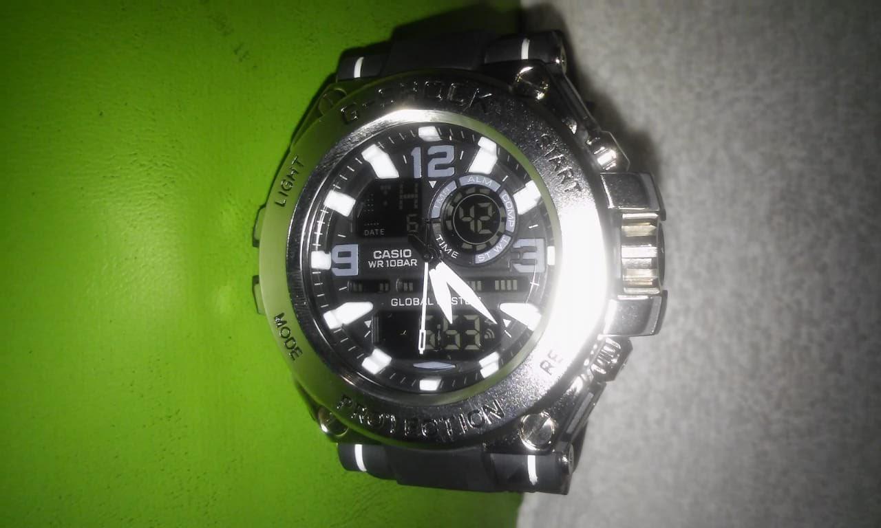 7bffd3f1327 Relógio Masculino Digital Prova d´água G-shock G1000 +caixa.  Caracteristicas. Marca CASIO. Modelo m23442