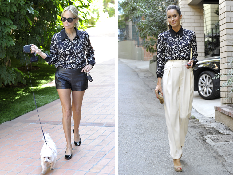 celebrities wearing catherine malandrino for kohls