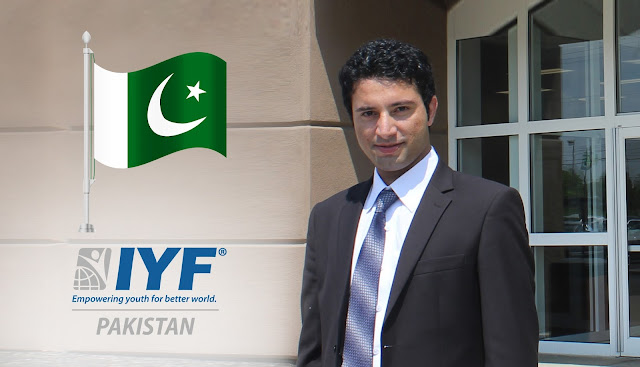 Muhammad Farooq, IYF Representative in Pakistan
