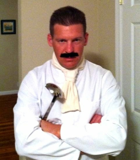 Seinfeld the Soup Nazi Halloween Costume