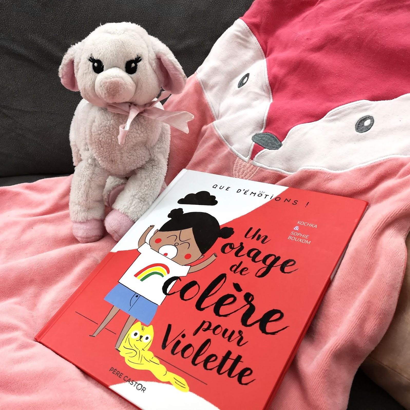 Un orage de colère pour Violette de Kochka et Sophie Bouxom