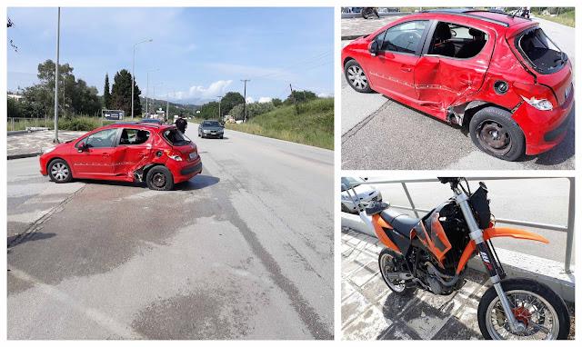 Τροχαίο ατύχημα με σοβαρό τραυματισμό πριν λίγο στην Ηγουμενίτσα (+ΦΩΤΟ)