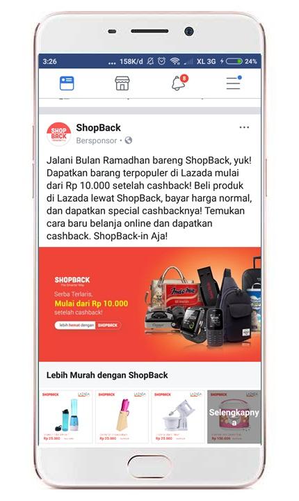 Mau beli pulsa dapat cashback saat Ramadhan? di SHOPBACK aja