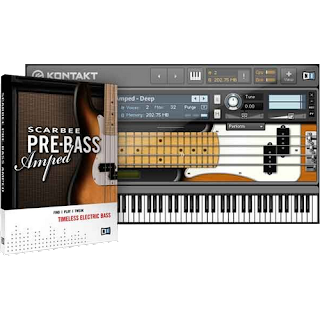Native Instruments - Scarbee Pre Bass Amped Full version