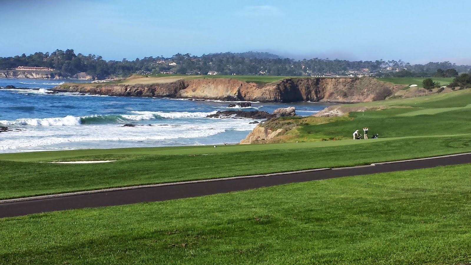 Pebble Beach View from 11