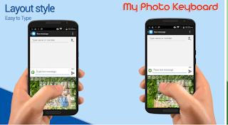 Cara Mengubah Tampilan Background Keyboard Dengan Foto Sendiri