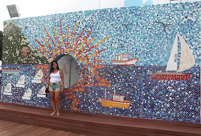 Pier da Vila em Ilhabela