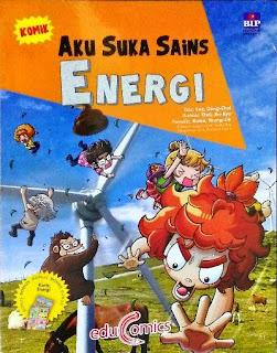 KOMIK AKU SUKA SAINS ENERGI KARTU