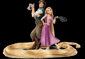 Os Enrolados - Rapunzel e Flynn Rider