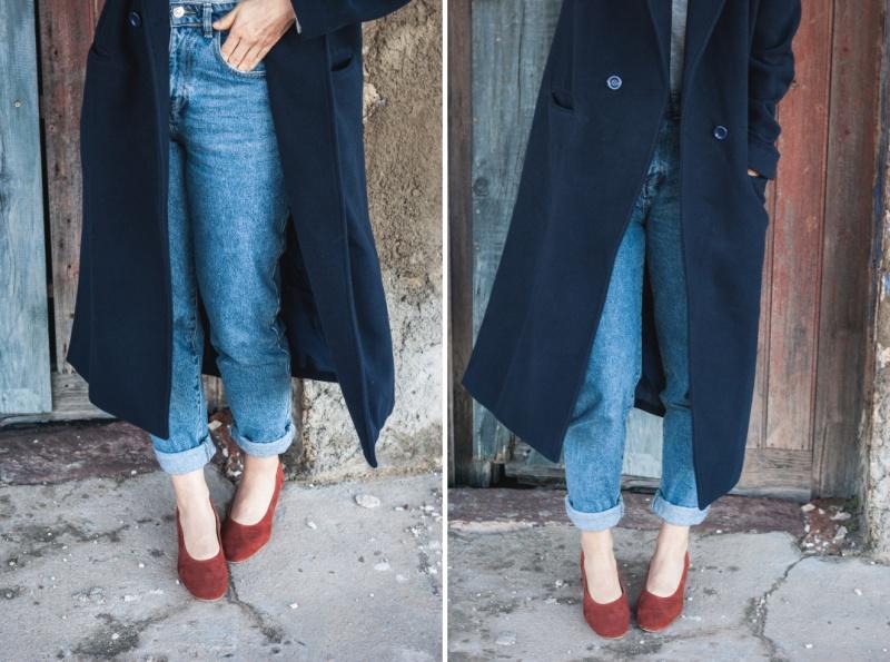 Blue coat Rosegal