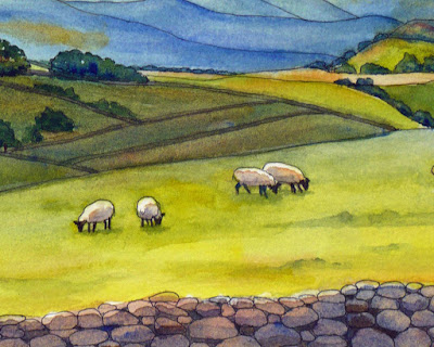 sheep detail