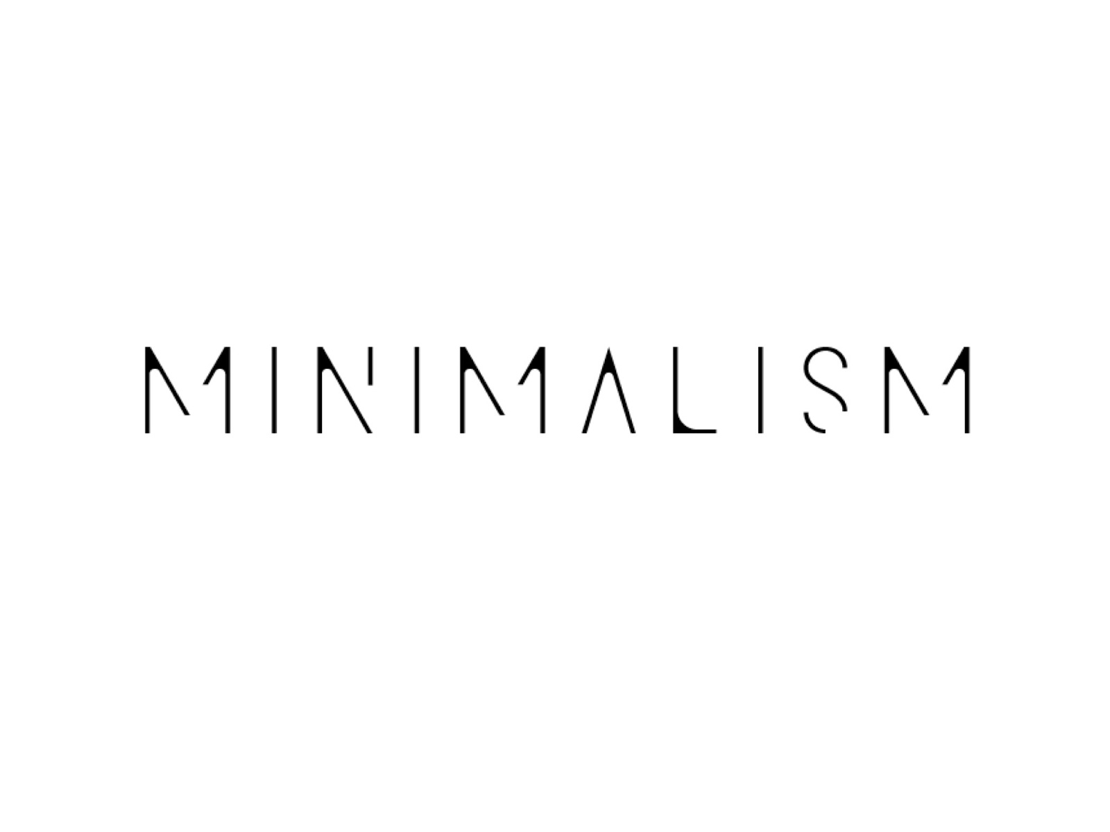 Her own skin be confident in your own skin for Who started minimalism