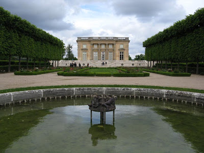 French formal garden style Petit Trianon