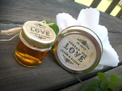 custom spread the love jar label