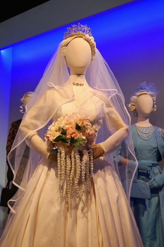 Crown season 2 Princess Margaret wedding dress