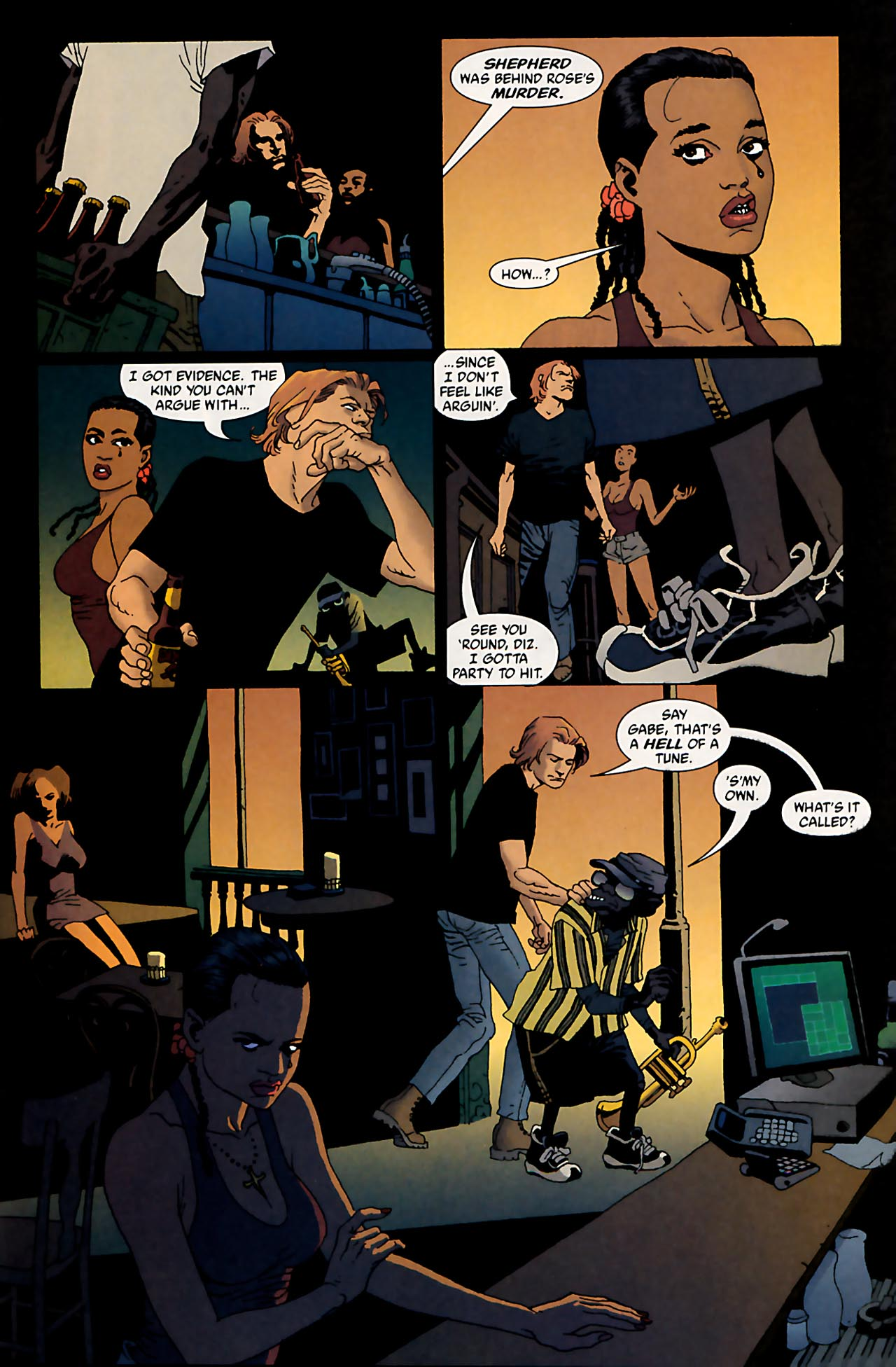 Read online 100 Bullets comic -  Issue #53 - 22