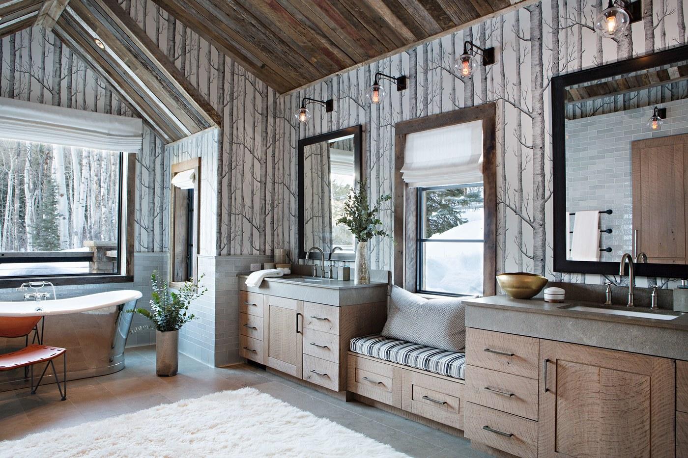 {Decor Inspiration} Luxury Ski Lodge in Aspen - Hello Lovely