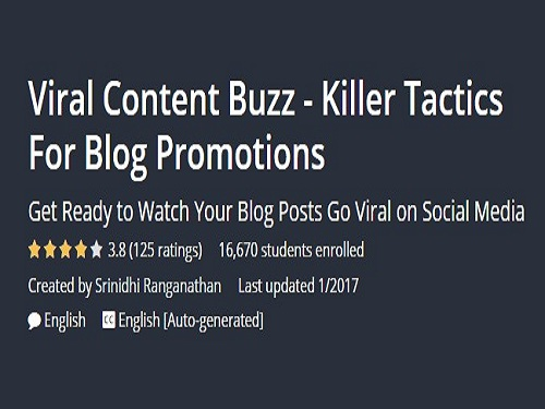 Free Viral Content Buzz - Killer Tactics For Blog Promotions