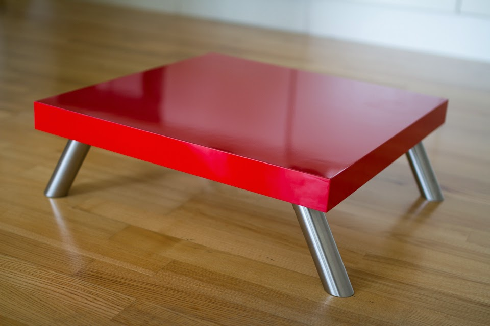 reinforced red lack platform stool table ikea hackers ikea hackers. Black Bedroom Furniture Sets. Home Design Ideas
