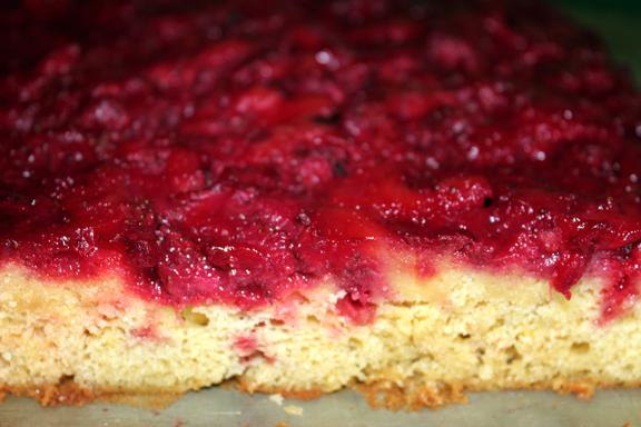 Strawberry Upside Down Cake Sunday Brunch