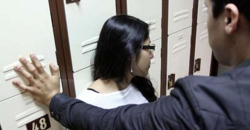Congreso aprobó ley que inhabilita permanentemente a profesores que cometan hostigamiento sexual