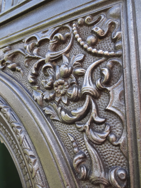 Intricate Detail on Fireplace