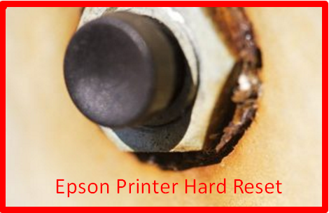 Epson Printer Hard Reset